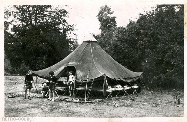 Le camping - Colonie de Beauvoir